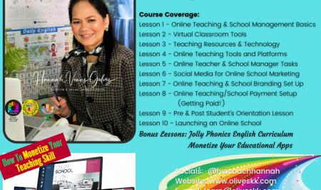 Online Teaching & Online School Management Course